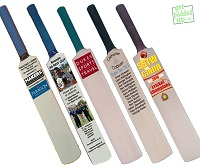 Miniature Cricket Bats: Corporate, Weddings, Birthdays, Schools, Clubs